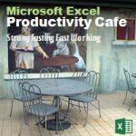 excel course productivity cafe singapore