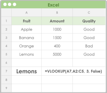 excel learning infographics - vlookup